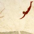 El nadador de Paestum