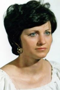 Mi madre, en 1988, con 49 años