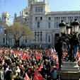 Protesta en Madrid