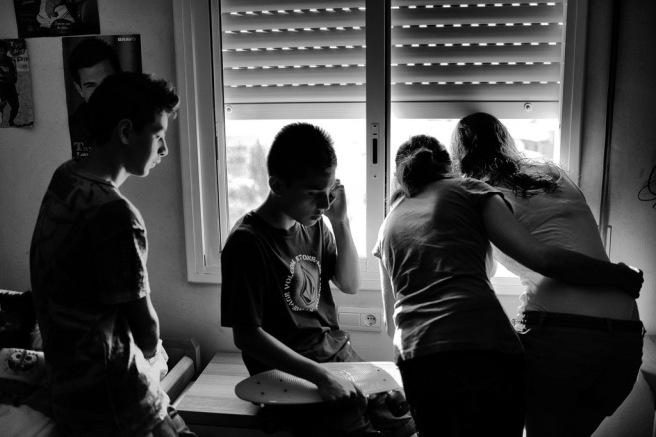 Una familia española, a punto de ser desahuciada (The New York Times)