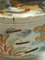 Lañas en la cerámica de Lope